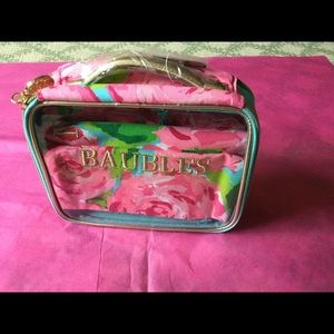 Lilly Pulitzer Wash and Wear Bag